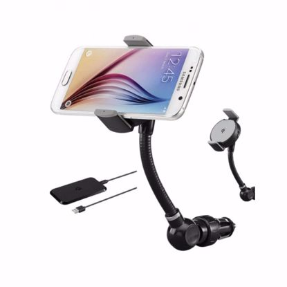 Picture of Trade Goji Qi Charging Car Holder in Black