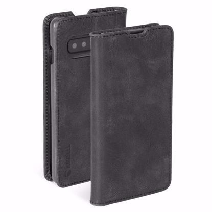 Picture of Krusell Krusell Sunne 2 Card Folio Wallet Case for Samsung Galaxy S10 in Vintage Black