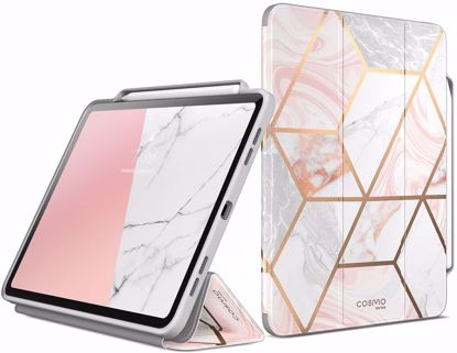 Picture of i-Blason i-Blason Supcase UB Pro Case with Apple Pen Slot for Apple iPad Pro 11 (2020) in Marble
