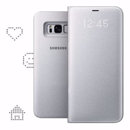 Picture of Samsung Samsung LED View Case for Samsung Galaxy S8+ in Silver