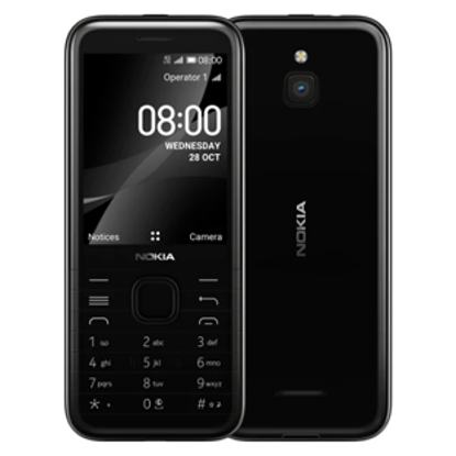 Picture of Nokia 8000 4G Black