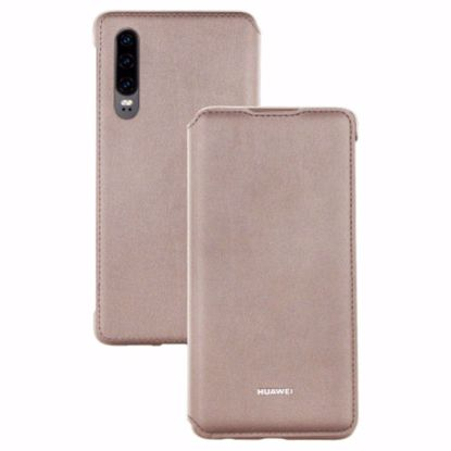 Picture of Huawei Huawei Wallet Folio Cover Case for Huawei P30 in Khaki